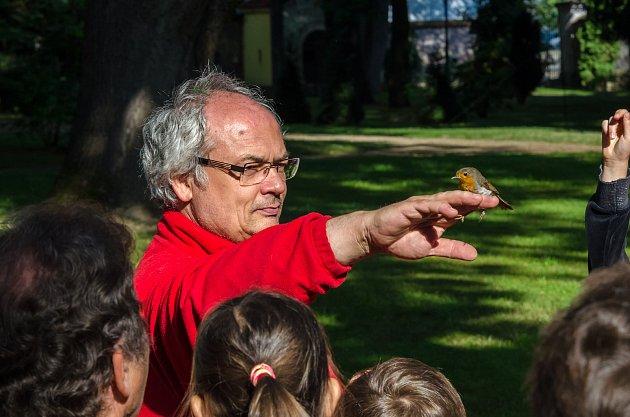 Jiří Šebestian je zoolog Prácheňského muzea vPísku.