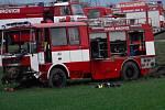 V roce 2018 vyrazili hasiči k ohlášenému požáru v Letech na Písecku. Cisterna dobrovolné jednotky z Mirovic se srazila s dodávkou.