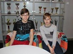 Jan Červenka (vlevo) a Lukáš Karolyi.