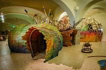 Stálá expozice Mraveniště v písecké galerii hrou Sladovna.