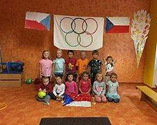 Olympijské hry v Mateřské škole Kostelec nad Vltavou.