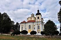 Barokní kostel v Nicově.