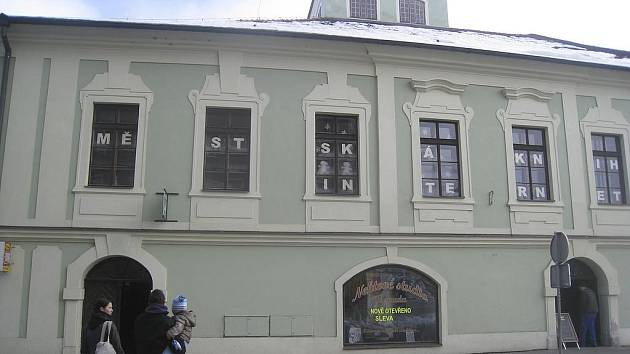 Městská knihovna v Milevsku.