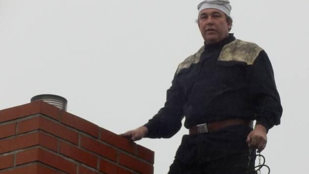 Kominík Luboš Marek z Písku.