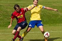Derby Čimelic s Pískem skončilo remízou 1:1.