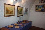 Výtvarníci Milevska a okolí vystavují v Galerii M.
