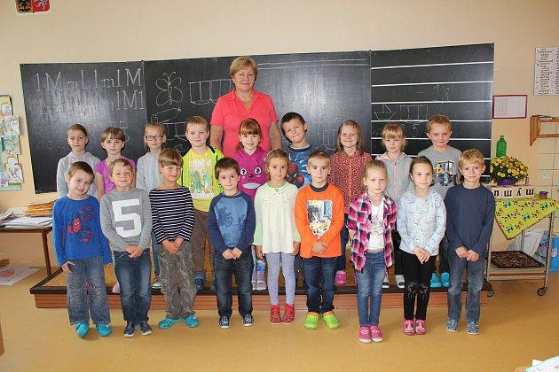 První třída ze Základní školy vČimelicích