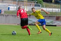 MFK Chrudim - FC Písek fotbal 2:0 (0:0).
