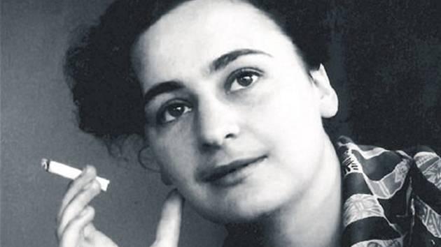 Dagmar Šimková před zatčením v roce 1952.