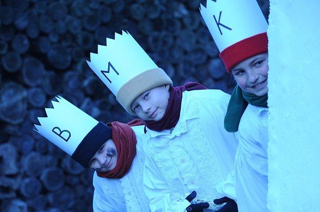 Tři králové v Kovářově.