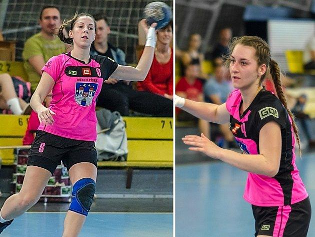 Sára Kovářová a Magdalena Svobodová ještě v dresu Písku