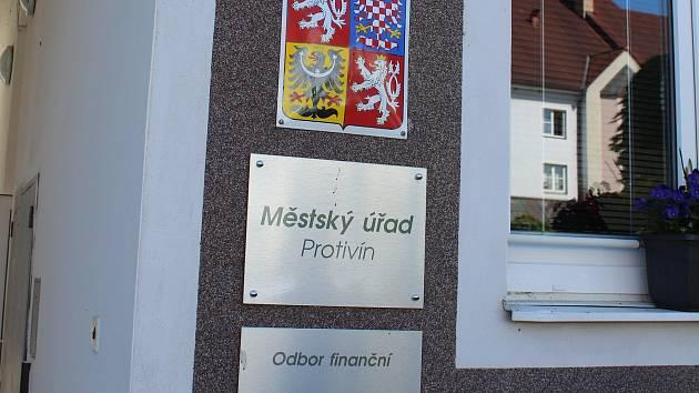 Protivín, Městský úřad. Ilustrační foto