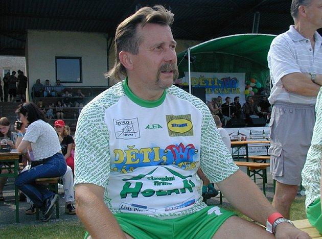 Hokejový trenér Vladimír Caldr (na archivním snímku při fotbalové exhibici v Písku) se stal novým trenérem druholigového týmu IHC Písek.