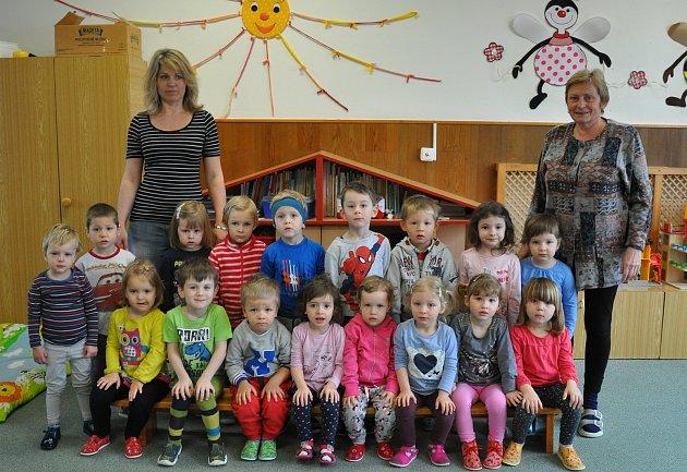Děti z8. Mateřské školy vPísku - Žlutá třída