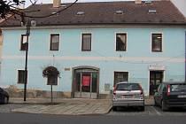 Budova v Žižkově ulici v Písku.