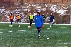Trenér FC Písek U 19 Rostislav Grossmann.
