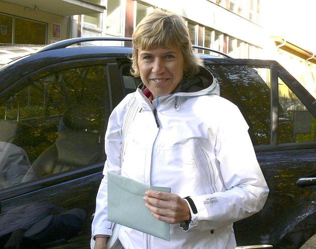 Olympijská vítězka v běhu na lyžích Kateřina Neumannová