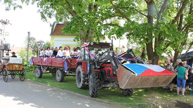 Májové slavnosti v Křenovicích oslavovaly 100. výročí republiky.