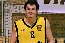 OPORA píseckých basketbalistů Petr Šlechta.