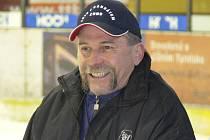 Vladimír Caldr se před několika dny stal hlavním trenérem druholigových hokejistů IHC Písek.