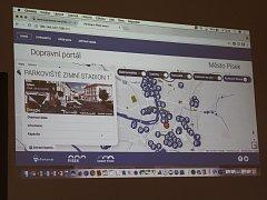 Webový portál nabídne reálná data týkající se parkování či uzavírek ve městě.