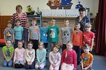 Děti z 8. Mateřské školy v Písku - Modrá třída
