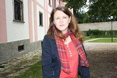 HLAVNÍ PRŮVODKYNĚ. Petra Kramperová z Milevska seznamuje sedm let návštěvníky s  historií a výjimečností premonstrátského kláštera.