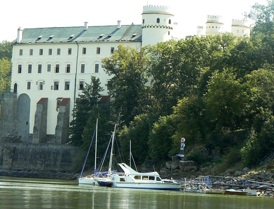 Zámek Orlík - ilustrační foto.