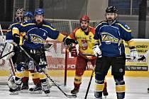 Jindřichohradečtí hokejisté v 20. kole krajské ligy zdolali Radomyšl 3:2.
