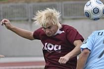 Daniel König (na snímku) vstřelil za béčko Písku ve Čkyni v utkání krajského přeboru dva góly a přispěl tak k vítězství svého týmu v poměru 4:0.