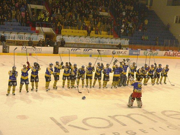 IHC Komterm Písek vyhrál nad Jindřichovým Hradcem 5:0 a postoupil do kvalifikace o 1. ligu.