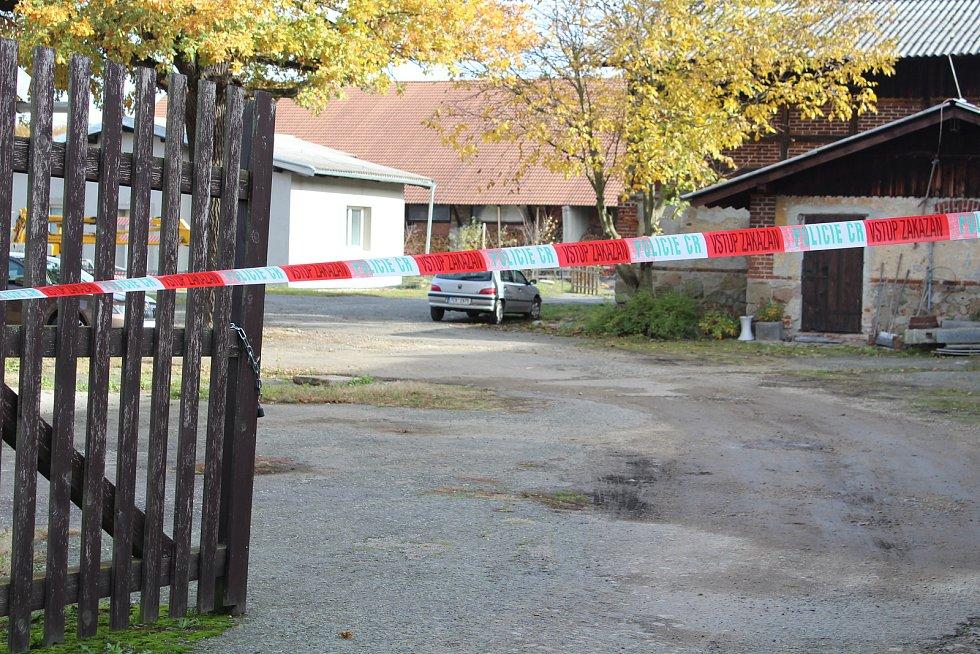 V Boru u Protivína došlo k dvojnásobné vraždě.