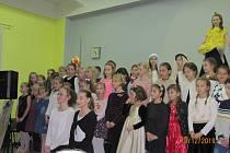 Vánoční koncert ZŠ E. Beneše Písek.