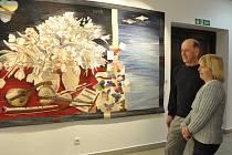 Vernisáž výstavy Dalibora  a Miloslavy Říhánkových v Prácheňském muzeu v Písku