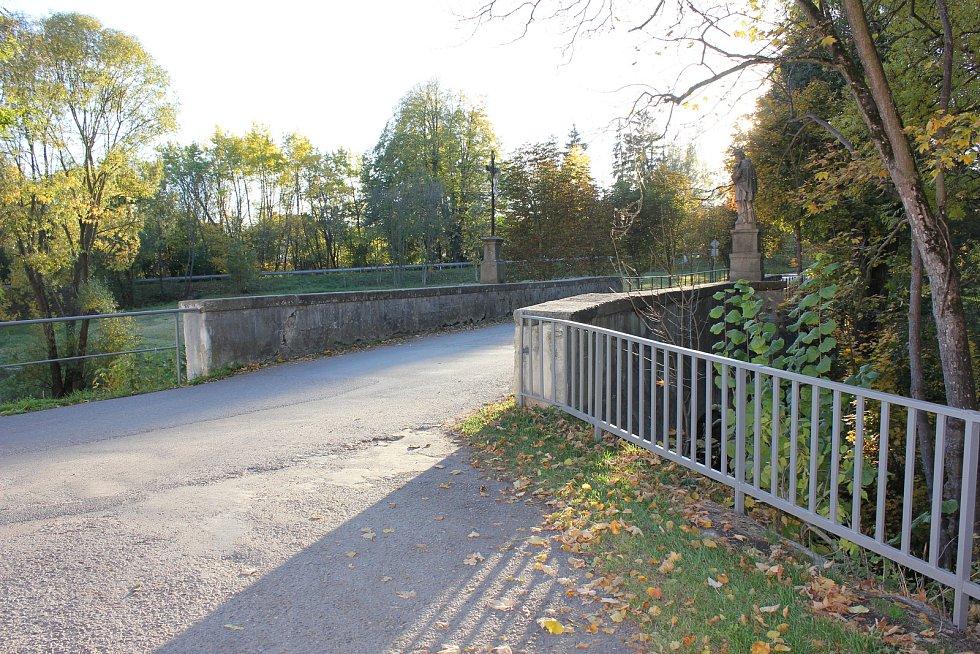 Klášterní most v Milevsku.