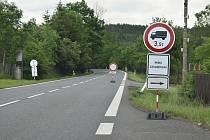Most na trase Písek - Tábor u Srlína je zavřený.