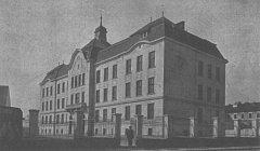 Budova ZŠ T. G. Masaryka v Písku.