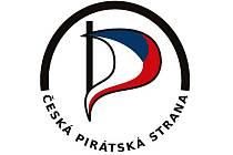 Logo České pirátské strany.