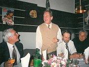 Václav Havel v Písku v roce 1996.
