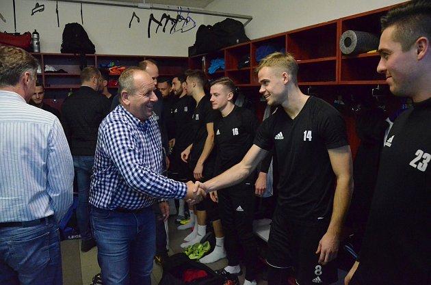 Zahájení přípravy A-týmu FC Písek.