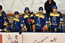 Písečtí hokejisté porazili Cheb 4:2. Ilustrační foto.