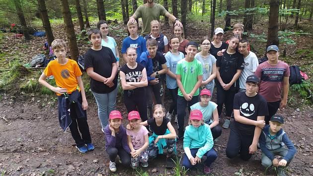 Na tábor se sjely děti z celé České republiky.