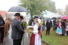 Oslava 100. výročí vzniku samostatného státu v Kovářově.