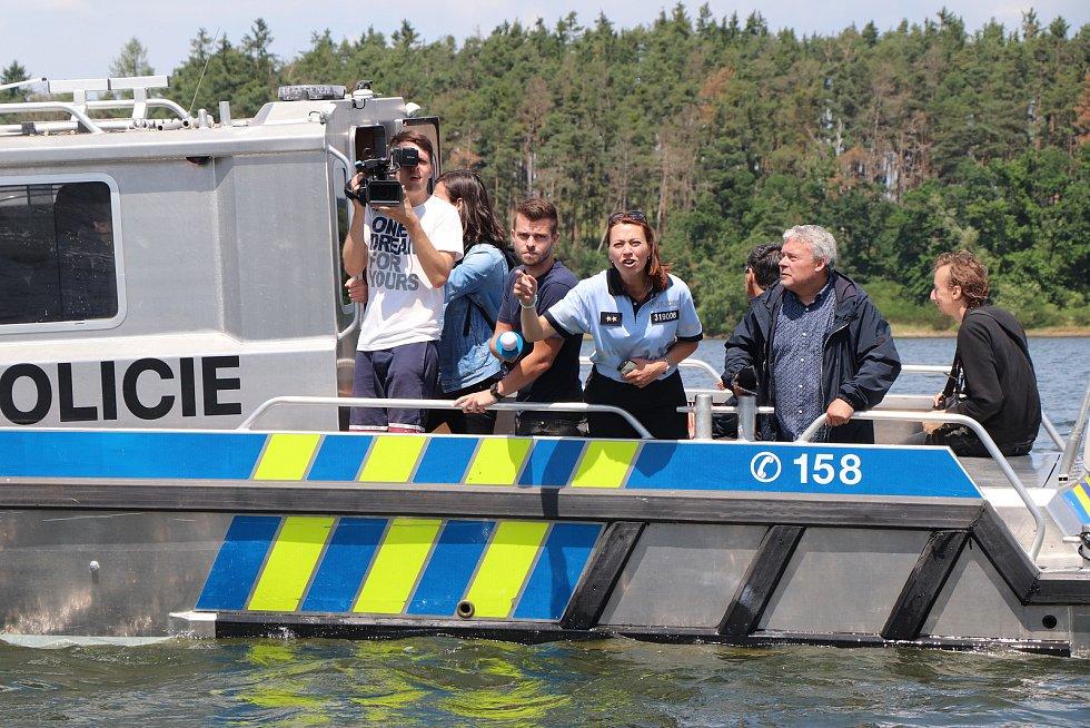 Bezpečnost na vodě, akce policie na Orlíku