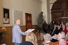 Dagmar Šimkové odhalili ve Štěkni pamětní desku.
