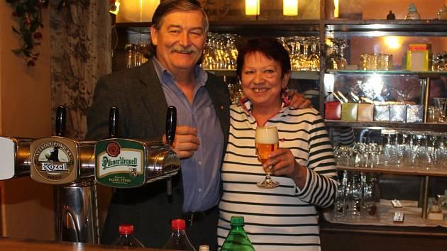 Na Hvížďalce  pracovali manželé Karel a Miroslava Pavelkovi celkem 29 let.