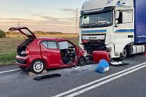 Tragická nehoda na Písecku.