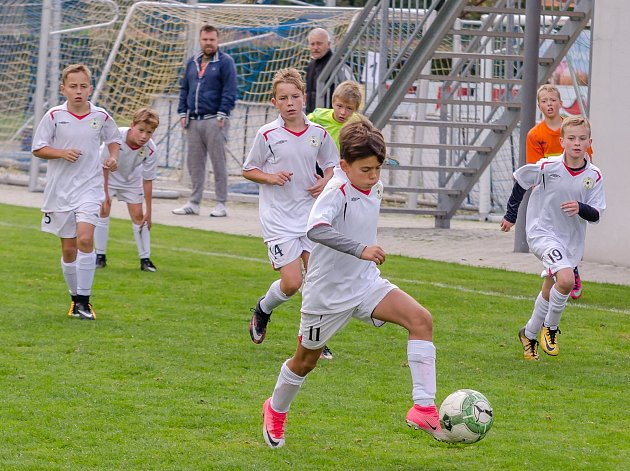 Hráči FC Písek U12