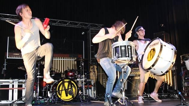 Marimba live drums v Písku.