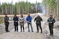 Tři rybníky jsou obnovené.